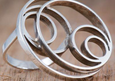 Ring met cirkels